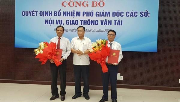 Đà Nẵng bổ nhiệm 2 tân Phó giám đốc Sở