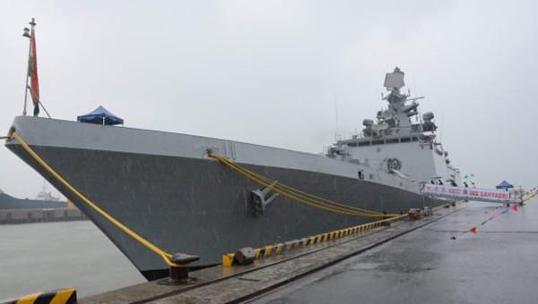 Tàu Hải quân Ấn Độ thăm hữu nghị TP. Đà Nẵng