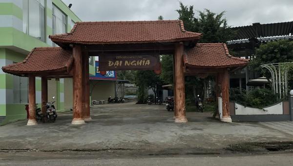 Công viên huyện Đăk Hà bị xẻ thịt