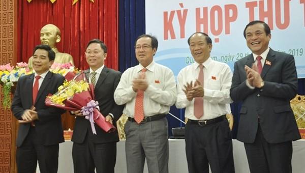 Ông Lê Trí Thanh được bầu làm Chủ tịch UBND tỉnh Quảng Nam