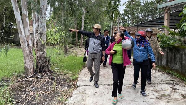 Người dân không đồng tình kết quả quan trắc về cây chết quanh dự án Hòa Phát - Dung Quất