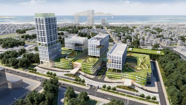 Bệnh viện Nhi Truong ương 100 triệu USD được xây dựng tại quận Sơn Trà
