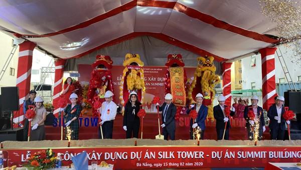 Lễ khởi công 2 dự án khách sạn quốc tế 4 sao và Tòa nhà văn phòng hạng A tại Đà Nẵng