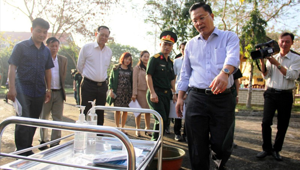 Ca nhiễm Covid-19 đầu tiên ở Quảng Nam là du khách người Anh