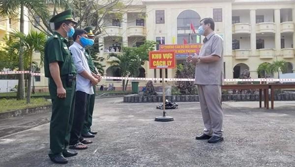 Quảng Nam triển trai các biện pháp phòng chống dịch Covid-19.