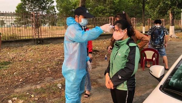 Các chốt kiểm tra thân nhiệt, khai y tế tại Đà Nẵng