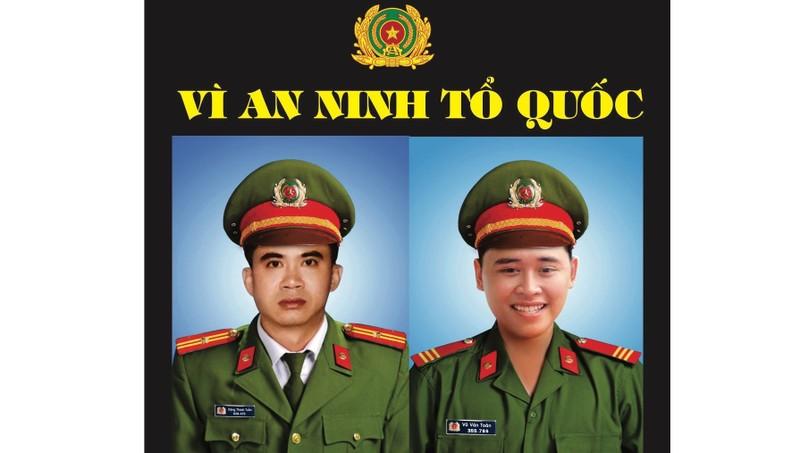 Đau xót tiễn biệt 2 Công an Đà Nẵng hy sinh khi truy bắt nhóm đua xe cướp giật
