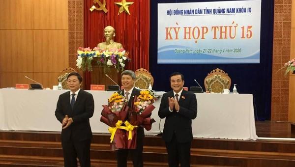 Chủ tịch UBND huyện Nam Trà My giữ chức Phó Chủ tịch UBND tỉnh Quảng Nam