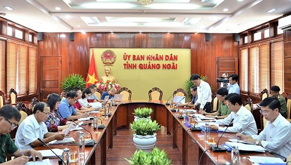 PC Quảng Ngãi tham gia họp triển khai nhiệm vụ tổ chức giải Marathon 2020