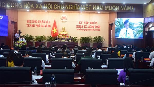 Kỳ họp làn thứ 15 HĐND TP Đà Nẵng khóa IX diễn ra từ ngày 6/7.