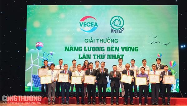 Lễ vinh danh Doanh nghiệp đạt giải Năng lượng bền vững 2019