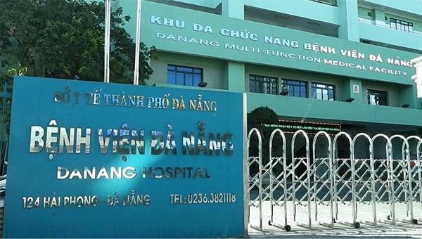 Bệnh viện Đà Nẵng nơi bệnh nhân 418 đến khám và điều trị