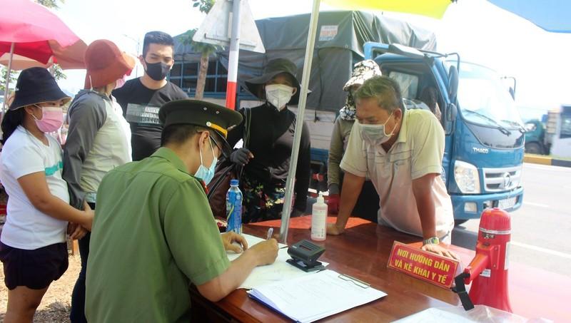 Quảng Nam thành lập 4 chốt kiểm soát dịch Covid-19