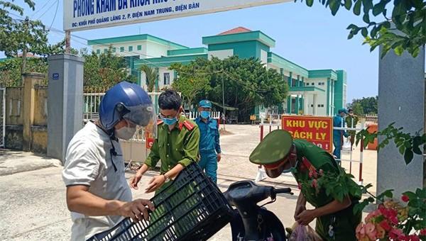 Kiểm soát ra vào các khu cách lý tại Quảng Nam