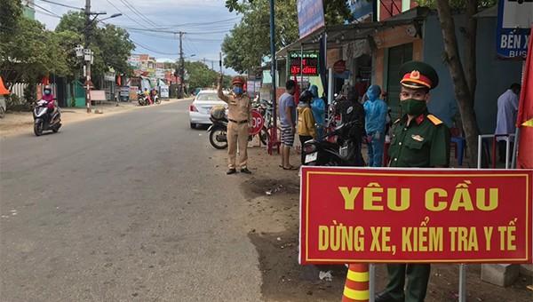 Tăng cường kiểm soát, ngăn dịch bệnh COvid-19 tại Quảng Nam