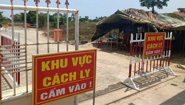 Khu cách ly tại Quảng Nam