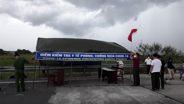 Phong tỏa tạm thời khu dân cư tại huyện Thăng Bình và Thị xã Điện Bàn
