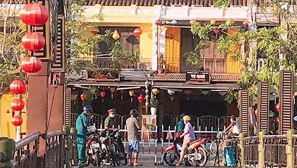 Phong tỏa thêm một số khu dân cư ở Hội An và Đà Nẵng