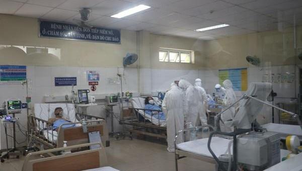 Các ca mắc Covid-19 tại Đà Nẵng đang được điều trị tại Bệnh viện dã chiến thuộc Trung tâm y tế huyện Hòa Vang