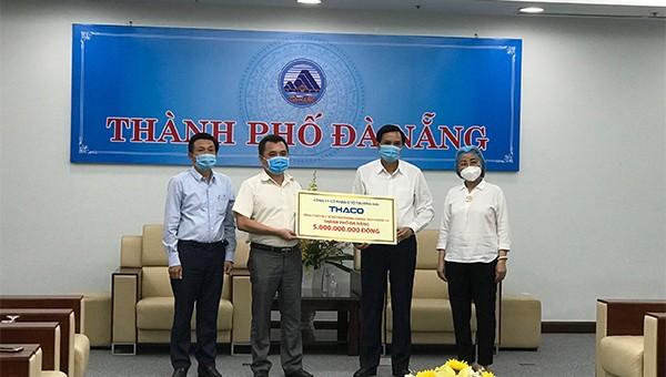 Thaco tặng thiết bị y tế trị giá 5 tỉ đồng cho Đà Nẵng