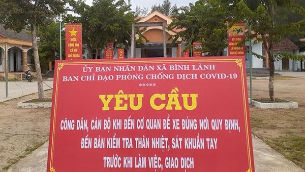 Bí thư Quảng Nam gửi thư cảm ơn các tổ chức, cá nhân hỗ trợ cuộc chiến chống Covid-19