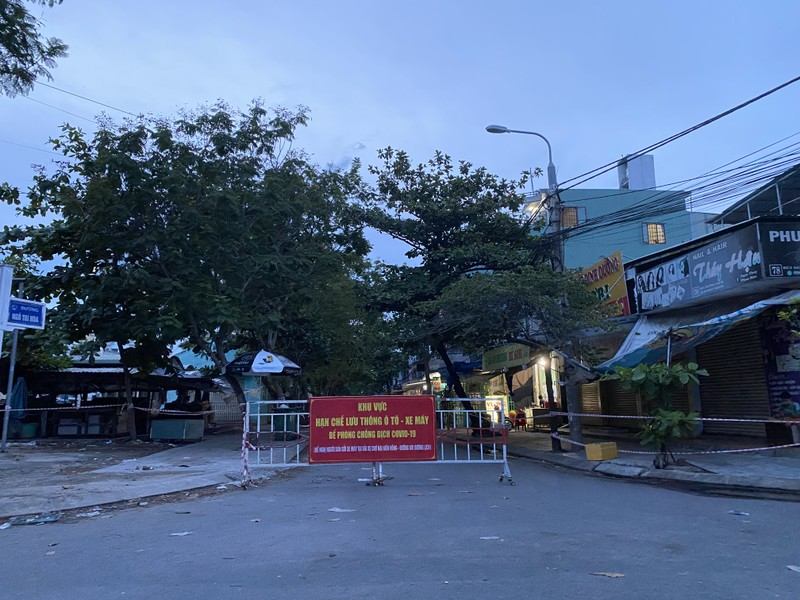 Một khu vực cách ly tại phường Nại Hiên Đông, Sơn Trà