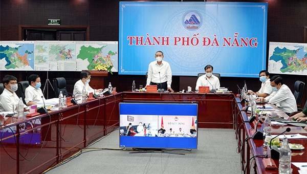 Hội nghị trực tuyến thẩm định Đồ án Điều chỉnh quy hoạch TP. Đà Nẵng.