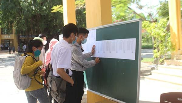 Gần 11.000 học sinh ở Đà Nẵng được bố trí thi tốt nghiệp THPT đơt 2 vào ngày 2-4/9.