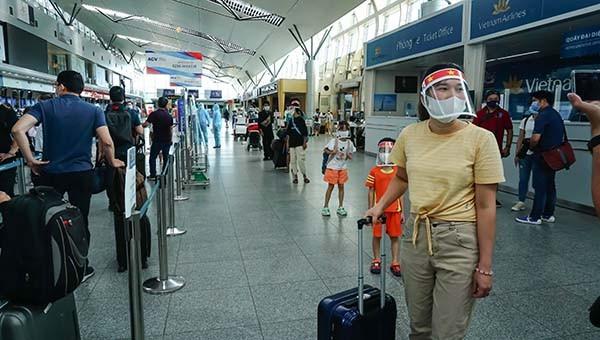 Các hoạt động vận tải hành khách đi và đến Đà Nẵng được phép hoạt động trở lại từ 0h ngày 7/9