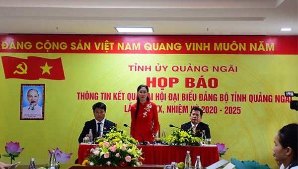 Nghị quyết của Đảng bộ tỉnh Quảng Ngãi khóa XX đưa Quảng Ngãi phát triển nhanh hơn, bền vững hơn