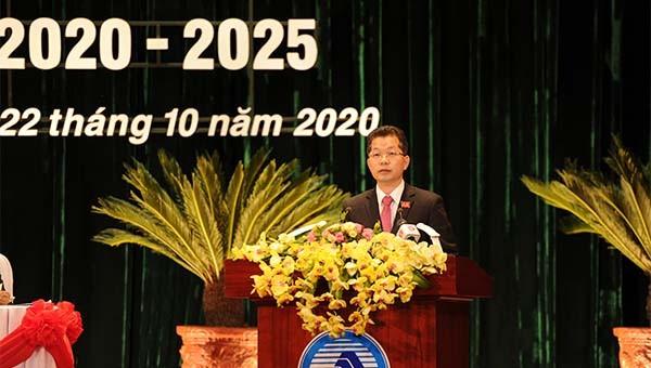 Đồng chí Nguyễn Văn Quảng được bầu là Bí thư Thành ủy Đà Nẵng khoá XXII