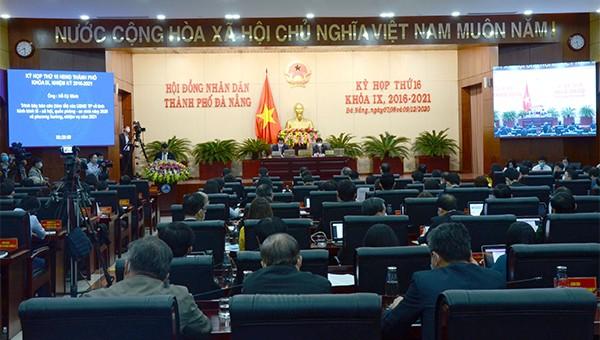 Khai mạc kỳ họp thứ 16 HĐND Đà Nẵng khóa IX.