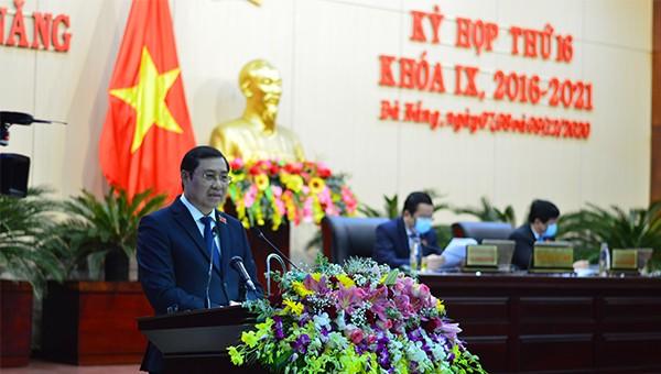 Xúc động những trải lòng lần cuối trước nghị trường của Chủ tịch TP Đà Nẵng