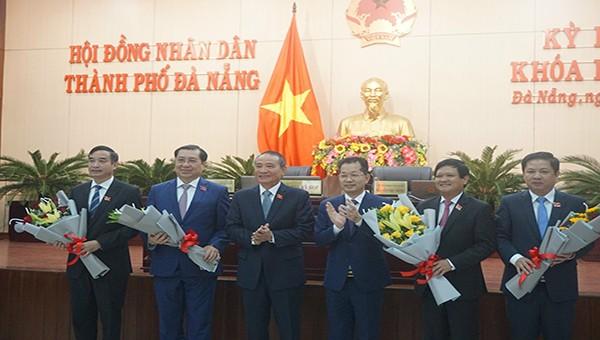 Đà Nẵng có tân Chủ tịch UBND và HĐND thành phố