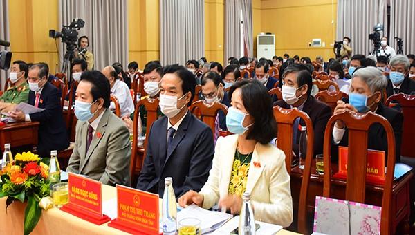 Quảng Ngãi thông qua Nghị quyết về việc thành lập Văn phòng Đoàn đại biểu Quốc hội và HĐND tỉnh Quảng Ngãi.