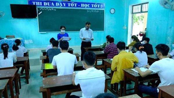 Kỳ thi tốt nghiệp THPT năm 2020 tại Quảng Ngãi