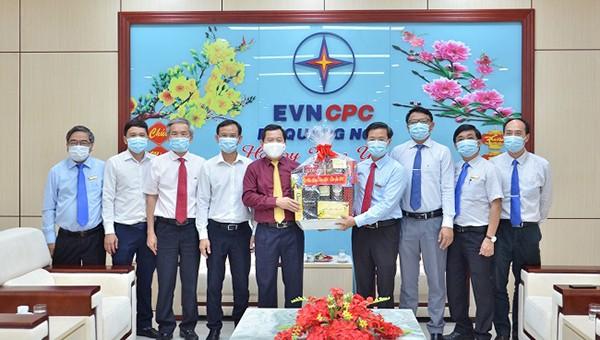Chủ tịch UBND Tỉnh Quảng Ngãi thăm chúc Tết PC Quảng Ngãi