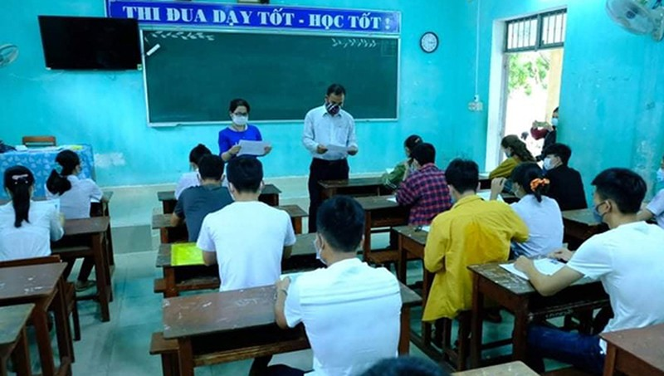 Quảng Nam, Quảng Ngãi cho học sinh nghỉ thêm 5 ngày để theo dõi tình hình dịch Covid-19