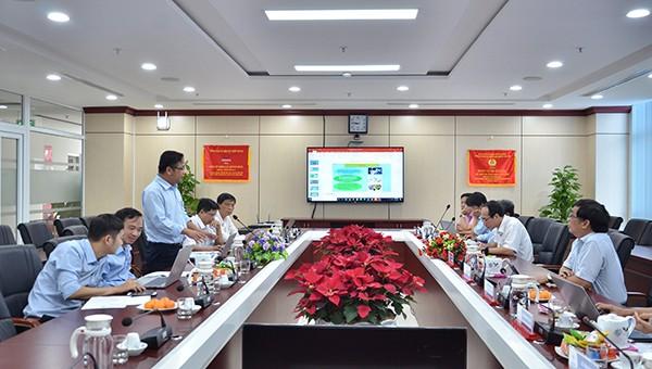 PC Quảng Ngãi tổ chức phần thi bảo vệ ý tưởng sáng tạo trong công tác đào tạo phát triển nguồn