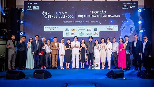 Hợp báo công bố khởi động Cuộc thi Hoa khôi Hòa Bình Việt Nam 2021 tại Đà Nẵng