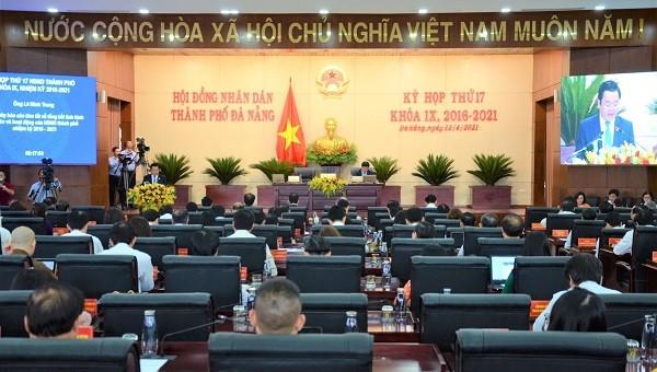 Kỳ họp thứ 17 HĐND TP Đà Nẵng khóa IX nhiệm kỳ 2016-2021.