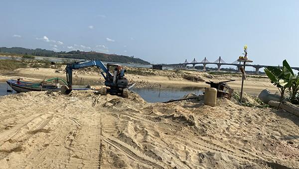Sở TN&MT tỉnh Quảng Ngãi lên tiếng về giá cát tăng
