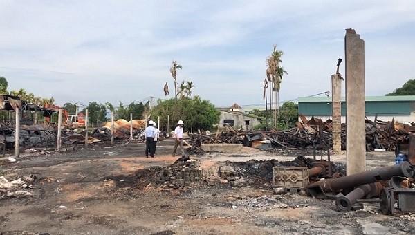 PC Quảng Ngãi: Nâng cao hiệu quả phòng chống cháy nổ vào mùa nắng