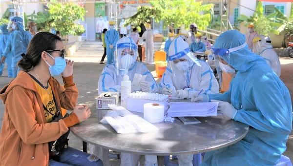 Nghi vợ của BN2982 tại Quảng Nam dương tính SARS-CoV-2