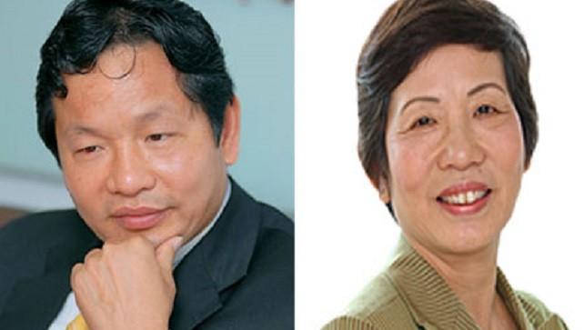 Chị em ông Trương Gia Bình