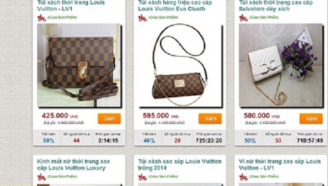 """Các loại túi xách thương hiệu nổi tiếng được bán với giá """"rẻ như bèo"""""""