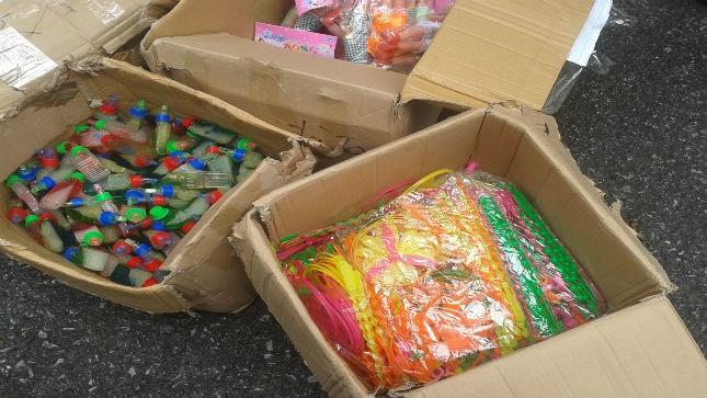 Bắt giữ hơn 3.000 đồ chơi trẻ em nhập lậu không rõ nguồn gốc