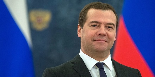 Thủ tướng Nga Dmitry Medvedev. (Ảnh: Sputnik)