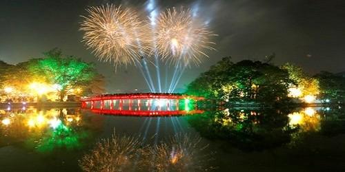 Hà Nội sẽ bắn pháo hoa tại 5 điểm vào tối 2/9/2015
