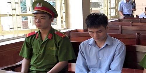 Bị cáo Chung tại phiên tòa 21/7